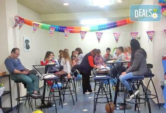 Детски рожден ден за 10 деца! 2 часа лудо парти с украса, парче пица, сок, детски фитнес уреди в Зали под наем Update - Снимка 12