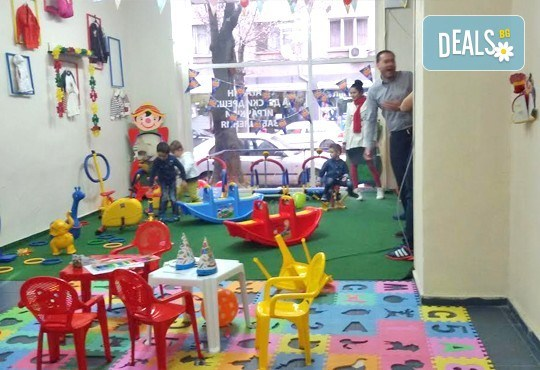 Детски рожден ден за 10 деца! 2 часа лудо парти с украса, парче пица, сок, детски фитнес уреди в Зали под наем Update - Снимка 9