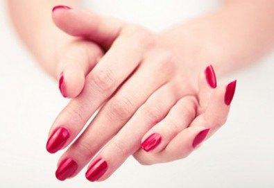 Перфектни ръце! Маникюр с гел лак SNB в Chocolate & Beauty - Снимка