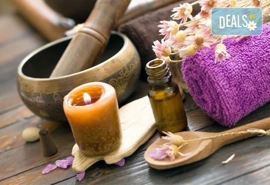 Индийски приказен масаж в 60 мин с арома терапия и техника за балансиране на лимфните потоци в Масажно студио Матрикс 77 - Снимка 2