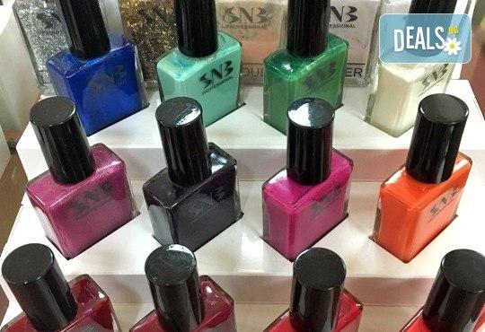 Ново от студио за красота Galina - ароматерапия с продукти от Rosa Damascena за вашите ръце с класически маникюр с лак SNB или маникюр с гел лак Bluesky! - Снимка 3