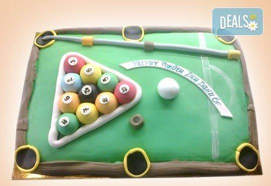 Фирмена торта с лого, индивидуален дизайн и брой парчета по избор от Сладкарница Джорджо Джани - Снимка 23