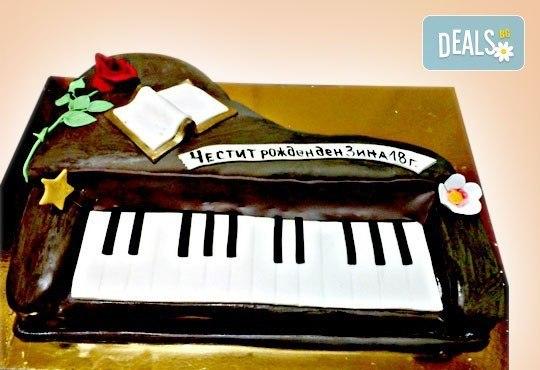 Фирмена торта с лого, индивидуален дизайн и брой парчета по избор от Сладкарница Джорджо Джани - Снимка 20