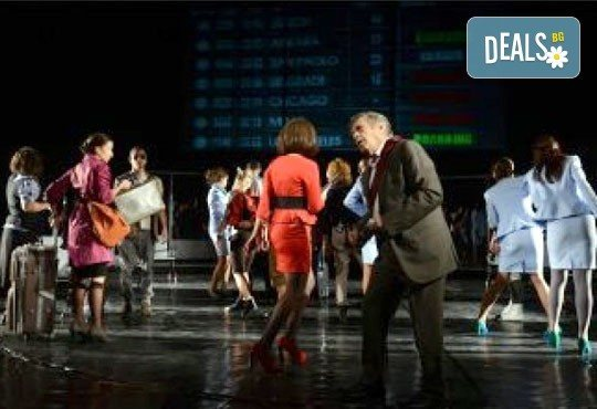 Гледайте звездите на Младежкия театър в Летище, Голяма сцена на 08.12. от 19 ч., един билет - Снимка 2
