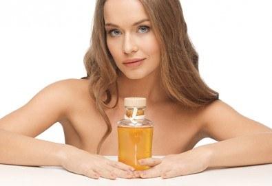 Масажно измиване, терапия по избор и оформяне на прическа със сешоар в салон за красота Sassy! - Снимка