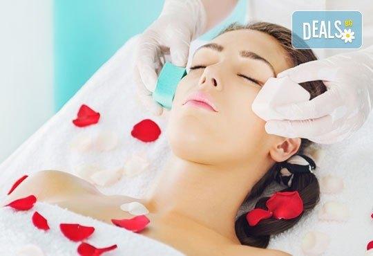 Инструментално почистване на лице с професионална козметика плюс бонус оформяне на вежди във VALERIE BEAUTY STUDIO - Снимка 2