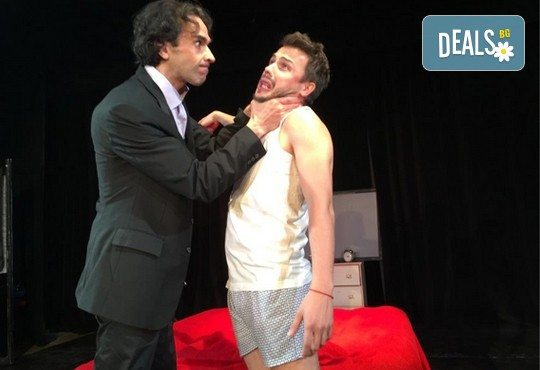 Нова и безумно смешна комедия в Театър Сълза и Смях! Среднощна история, на 14.12. от 19ч, камерна сцена, билет за един - Снимка 2