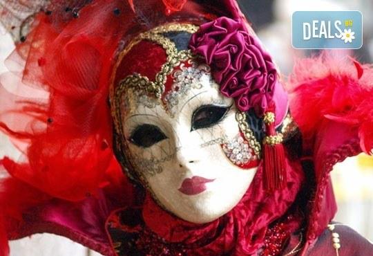 Във Венеция по време на карнавала! Самолетна екскурзия с 4 нощувки със закуски в хотел 2*, билет, летищни такси и трансфер! - Снимка 2