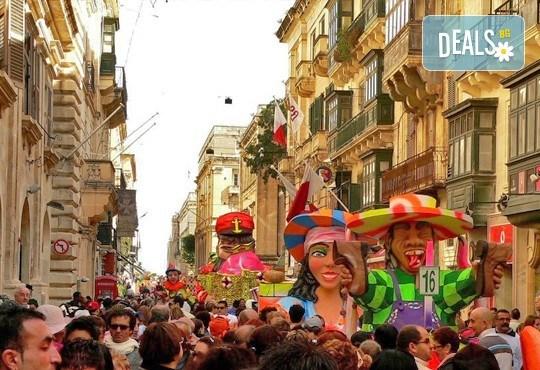 Карнавал в Малта, 25.02-28.02! 3 нощувки със закуски в хотел 3*, двупосочен билет, летищни такси - Снимка 2