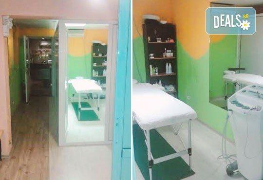 Боядисване на цялата коса или кичури, арганова затопляща терапия, ампула, масажно измиване и оформяне на прическа със сешоар в център Daerofit! - Снимка 5