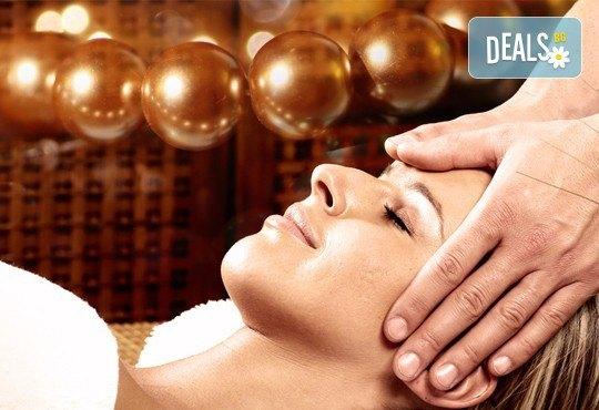 60 или 90-минутна СПА Терапия LUX, включваща кралски масаж на цяло тяло и глава, плюс пилинг на гръб с хайвер, перли и мускус - Снимка 2