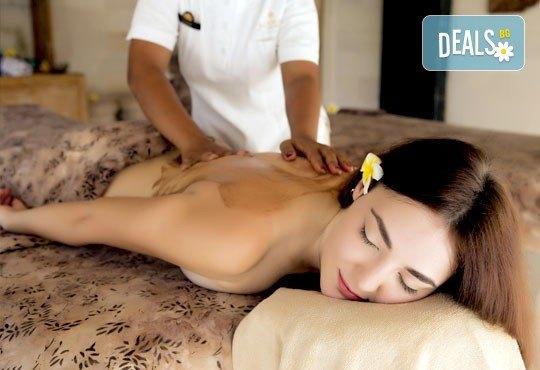 60 или 90-минутна СПА Терапия LUX, включваща кралски масаж на цяло тяло и глава, плюс пилинг на гръб с хайвер, перли и мускус - Снимка 3