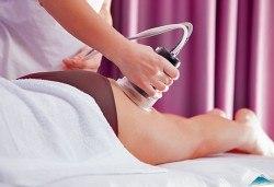 1 или 5 процедури ръчен антицелулитен масаж и вакуум на засегнати зони, център DR.LAURANNE