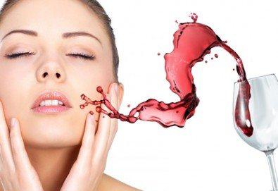 Нежна грижа с антиоксидантна терапия за зряла кожа с червено вино в студио за красота Jessica - Снимка