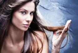 Да се справим с косопада! Подстригване, терапия против косопад с италиански и полски продукти, масажно измиване и сешоар от салон за красота Soleil - Снимка