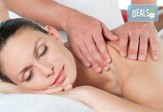 Масажът е здраве! Дълбокотъканен масаж на цяло тяло при рехабилитатор в комбинация с немски билкови масла KräuterhoF в Студио за красота SUNCHITA! - Снимка 2