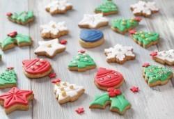 За Нова година! ЕДИН килограм ръчно декорирани бисквити от сладкарите на Muffin House! - Снимка