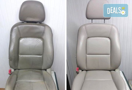 Обновете кожения салон на автомобила си! Реновиране на 1 брой кожена седалка от автомивка J&J! - Снимка 3