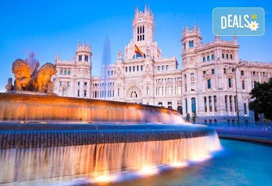 Самолетна екскурзия до Мадрид, на дата по избор, със Z Tour! 3 нощувки със закуски в хотел 3* в центъра, самолетен билет и летищни такси - Снимка 1