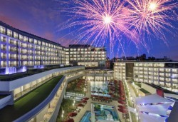 Нова година в Анталия! 4 нощувки на база Ultra All Inclusive в The Sense Deluxe hotel 5 *, Сиде, Гала вечеря, двупосочен билет, летищни такси и трансфери - Снимка