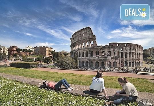 Самолетна екскурзия до Рим - Вечния град, в период по избор! 4 нощувки със закуски, билет, летищни такси, трансфери и застраховка! - Снимка 1