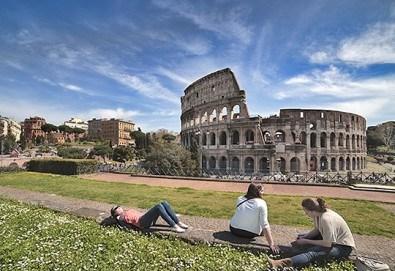 Самолетна екскурзия до Рим - Вечния град, в период по избор! 4 нощувки със закуски, билет, летищни такси, трансфери и застраховка! - Снимка