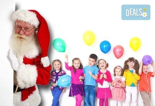 Подарете на детето си приказен празник! Празнувайте Коледа в клуб Звездички - 4 часа празнично настроение и среща с Дядо Коледа! - Снимка 1