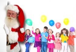 Коледа за деца и възрастни в парти клуб Звездички - наем на зала за 4 ч.