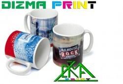 1 бр. чаша със снимка на клиента и дизайн по избор от Dizma print