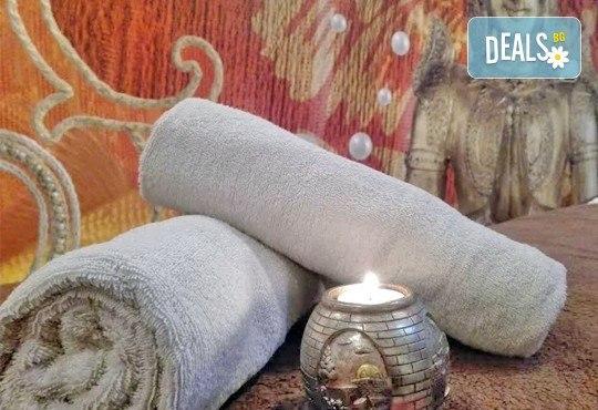 Без стрес и умора! 60-минутен дълбоко релаксиращ масаж на цяло тяло с топли вулканични камъни в комбинация с ароматерапия в салон за красота ФЛЕШ! - Снимка 5