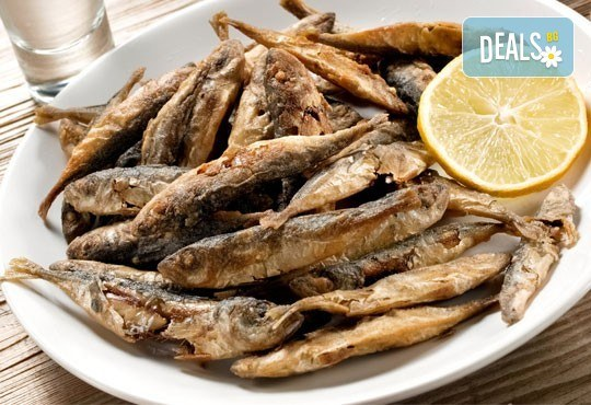 Вечеря за ценители! ЕДИН кг. хрупкава пържена риба: шаран и сафрид от Ресторант Сан Мартин! - Снимка 2