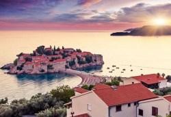 От март до октомври в Хърваия и Черна Гора: 4 нощувки, 4 закуски, 3 вечери, транспорт