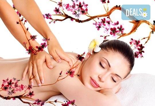 Заредете тялото и духа си с 60-минутен Японски йомейхо масаж в Chocolate studio! - Снимка 1