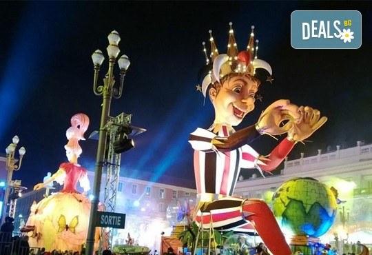 Екскурзия до карнавална Италия и Френската ривиера през февруари! 4 нощувки със закуски, транспорт и водач! - Снимка 1