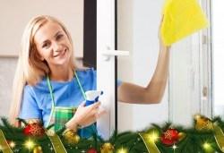 Двустранно почистване на прозорци и дограма от QUICKCLEAN
