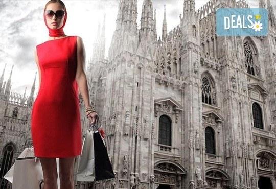 Отпразнувайте 8-ми март в Милано! 2 нощувки със закуски в хотел 3*, самолетен билет, летищни такси, трансфери и богата програма - Снимка 1
