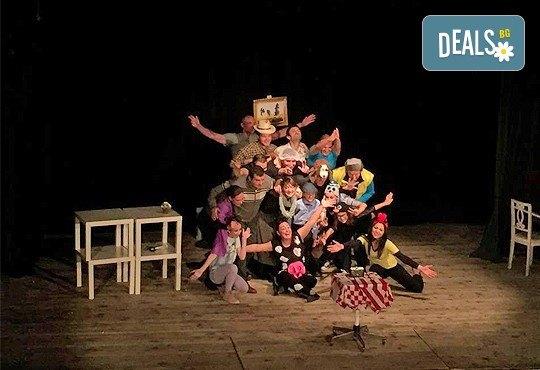 """Гледайте комедията """"Чичо Фьодор"""" по Едуард Успенски, на 24.01. от 19 ч.,Театър Виа Верде, на сцената на Сълза и Смях, камерна зала - Снимка 1"""