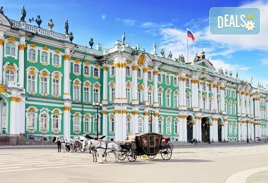 Ранни записвания 2017! Екскурзия до Санкт Петербург, Русия през юли: 7 нощувки, 7 закуски, 5 вечери, самолетен билет и посещение на Ермитажа и Петерхоф! - Снимка 3