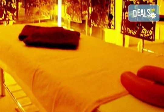 Релаксиращ масаж на цяло тяло с топли етерични масла с масаж на лице и деколте или рефлексотерапия и 30 минути сауна в салон Лаура стайл! - Снимка 6