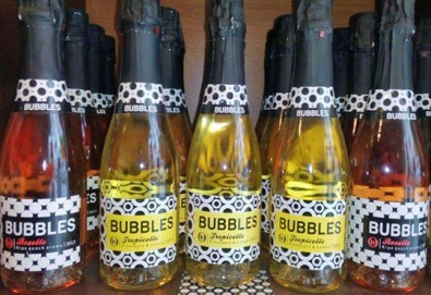 За празниците! Пакет от 4 бутилки BUBBLES (Rosello, Tropicello, Frutello) на специална цена от Винарната! - Снимка