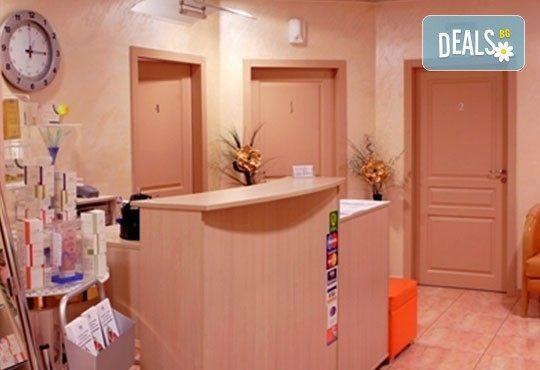 1 процедура с ND YAG лазер на американската фирма Lumenis за третиране на разширени вени и капиляри на 1 крак в дермакозметични центрове Енигма! - Снимка 2