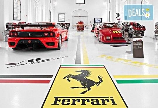 Екскурзия до Motor Show 2017 в Женева и Музея Ferrari в Маранело, с Дари Травел! 2 нощувки със закуски, самолетни билети и екскурзовод - Снимка 1