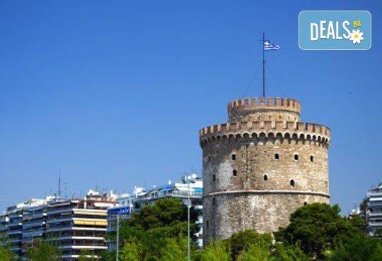 Великденски празници в Гърция, Халкидики! 3 нощувки със закуски и вечери в Calypso Hotel, транспорт и обиколка на Солун! - Снимка 11