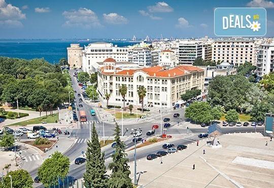 Великденски празници в Гърция, Халкидики! 3 нощувки със закуски и вечери в Calypso Hotel, транспорт и обиколка на Солун! - Снимка 9