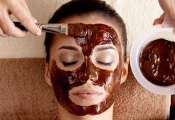 Регенерираща терапия по избор с шоколад или кисело мляко, масаж на лицето и подарък почистване на вежди, Дежа Вю, Студентски град - Снимка