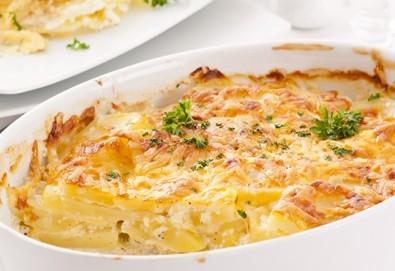 Неустоимо вкусно предложение! Вземете основно ястие и салата по избор в ресторант MFusion, Варна! - Снимка