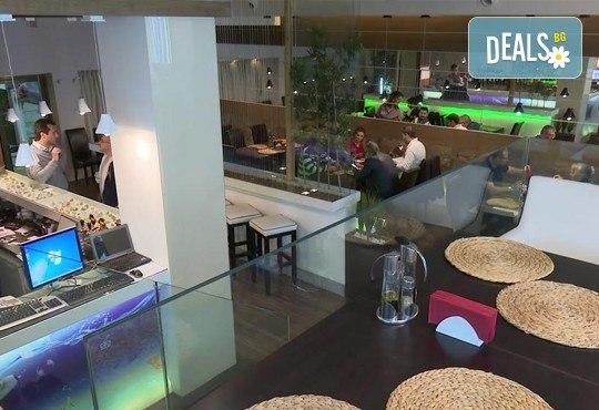 Неустоимо вкусно предложение! Вземете основно ястие и салата по избор в ресторант MFusion, Варна! - Снимка 11