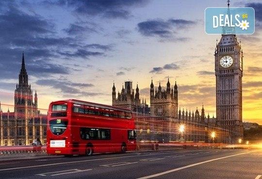 За 8-ми март в Лондон с Дари Травел! 3 нощувки със закуски в Royal National Hotel 3*, самолетен билет, летищни такси, трансфери и богата програма - Снимка 1