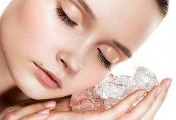 Дълбоко почистваща терапия за лице и криотерапия за затваряне на порите в салон за красота Relax Beauty! - Снимка