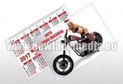 1000 визитки или джобни календарчета с готов файл за печат от New Face Media